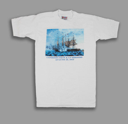 USS Constitution v. HMS Guerriere T-Shirt