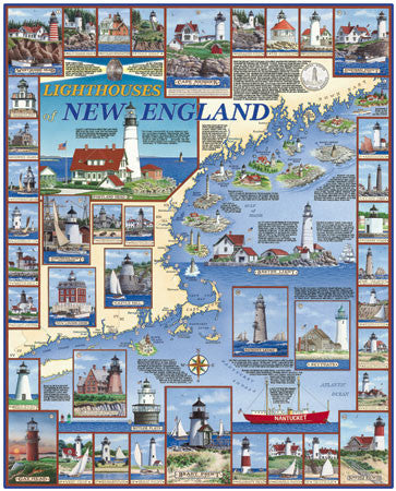 Lighthouses of New England Puzzle