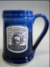 Traditional Beer Tankard - Blue