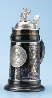 History of US Marine Corps Commemorative Stein