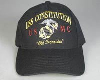 USMC USS Constitution Ball Cap