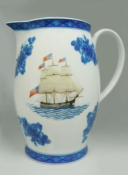 USS Constitution Mottahedeh Pitcher