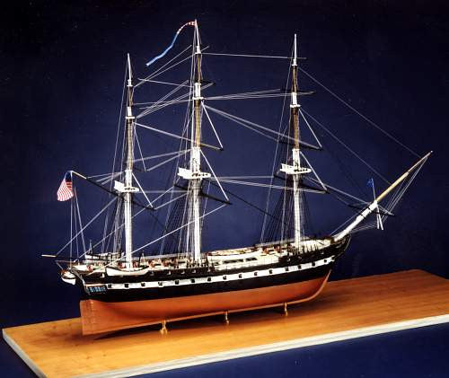 USS Constitution Bicentennial Edition by BlueJacket Crafters