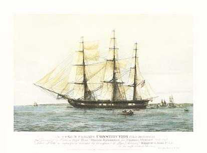 US 44 Gun Frigate Constitution (Old Ironsides)