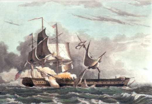 Capture of Guerriere by the Constitution