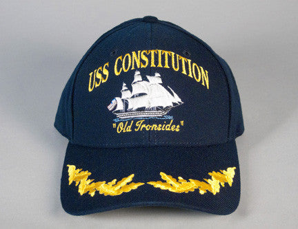 Single Oak Leaf Cluster Constitution Ball Cap
