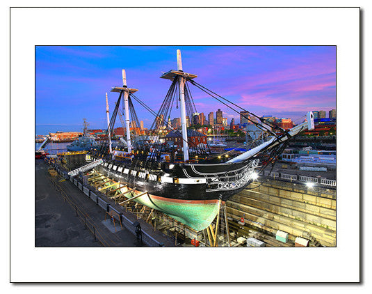 USS Constitution in Drydock