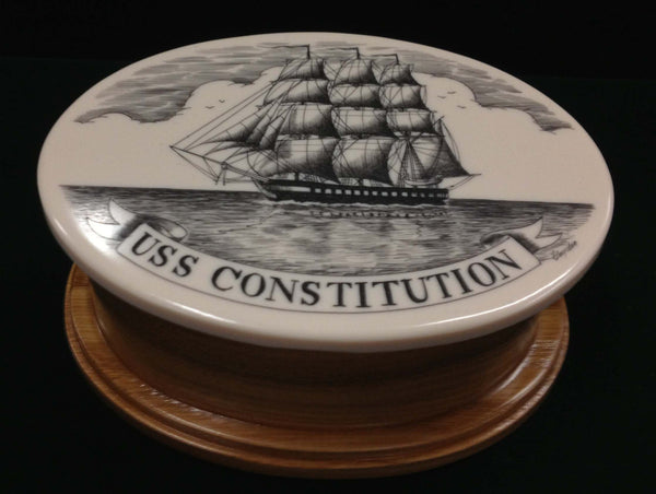 USS Constitution Oval Box