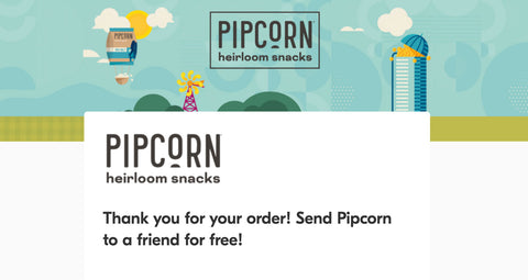 Pipcorn Buy 1, Give 1 promotion form