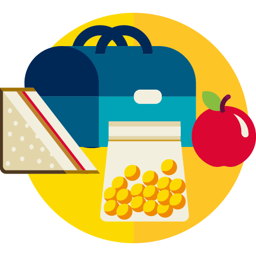 Great for School Lunches icon