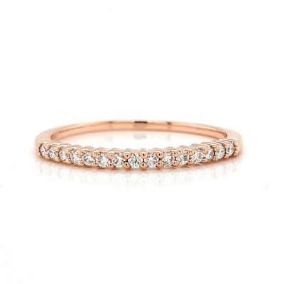 18ct Diamond Band