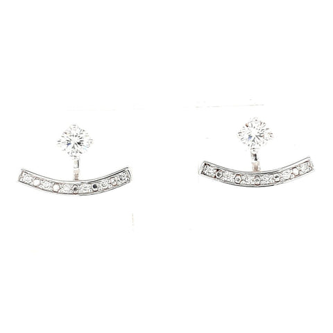 18k White Gold 0.30ct TDW Diamond Studs