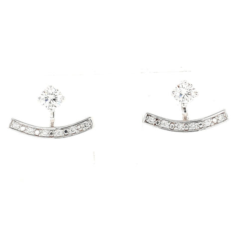 9k Diamond Earring Jackets