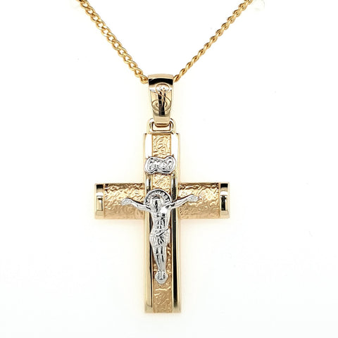 Double Sided Greek Crucifix