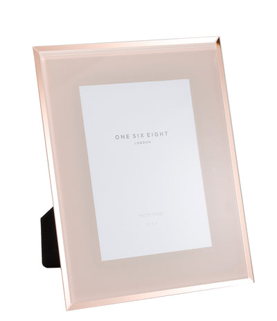 Blush Glass Photo Frame