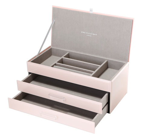 Gabriella Blush Large Jewellery Box
