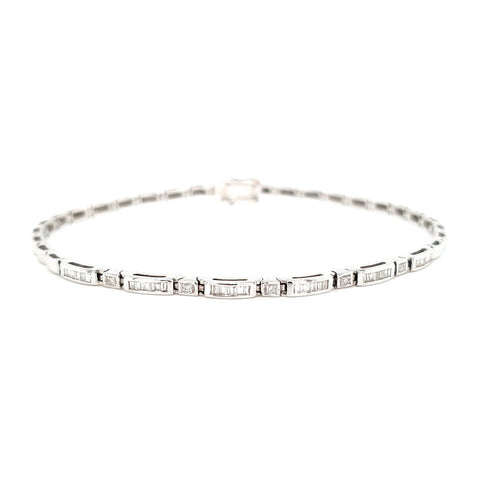 18k 0.25ct Diamond Bracelet