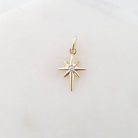 North Star Charm