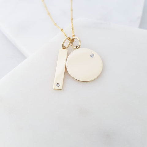 ID Bar Pendant
