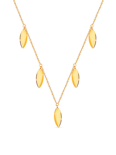 Gold Fleece Necklace