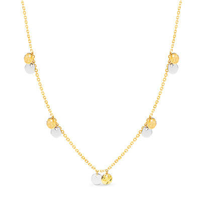 9k Gold Symphony Necklace