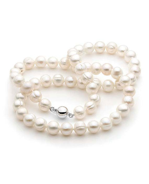8-9mm Freshwater Circle Pearl Strand 50cm