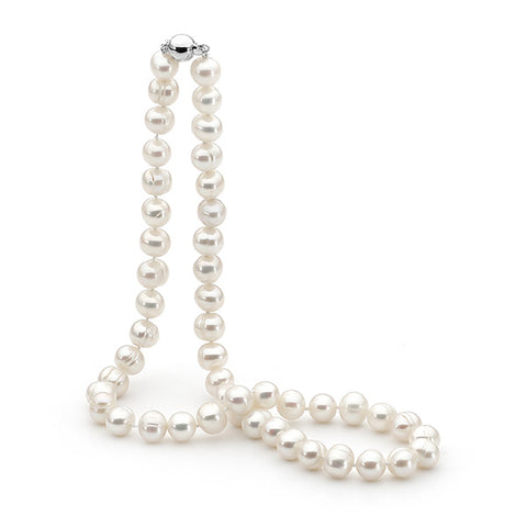 9.5-10.5mm Freshwater Pearl Strand 45cm