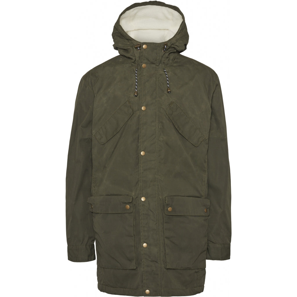KCA 92412 Nordic Legacy Expedition Long Jacket 1090 Forrest night