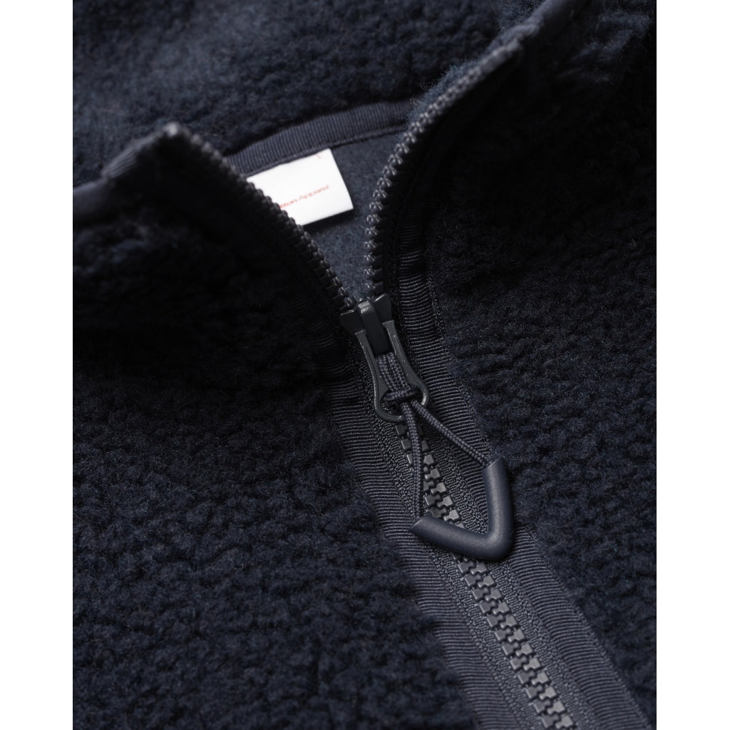 KCA Elm teddy fleece sweat half zip 30493 Total eclipse 1001