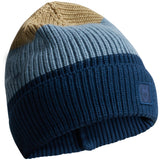 KCA 82252 Leaf colored ribbing hat 1307 Moonlite Ocean