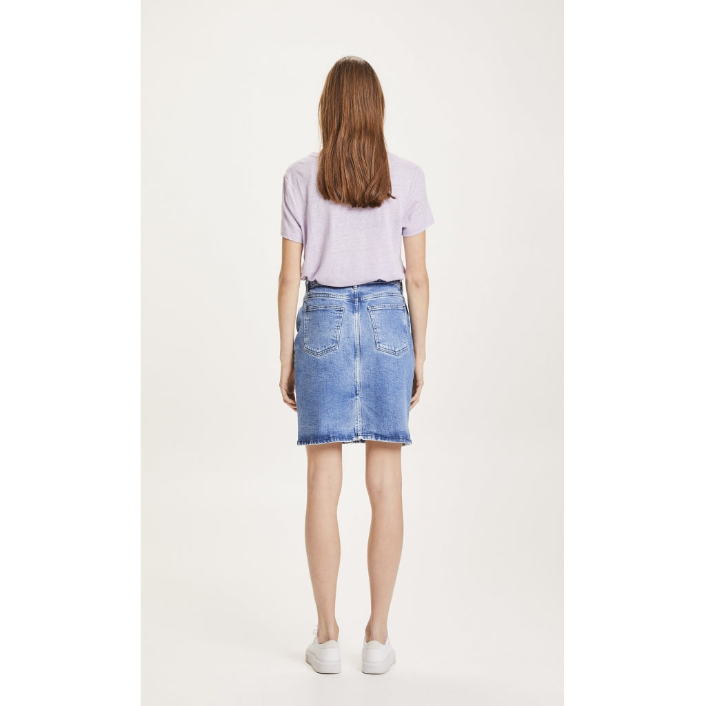 KCA 450001 Romy denim skirt 3045 Light denim women