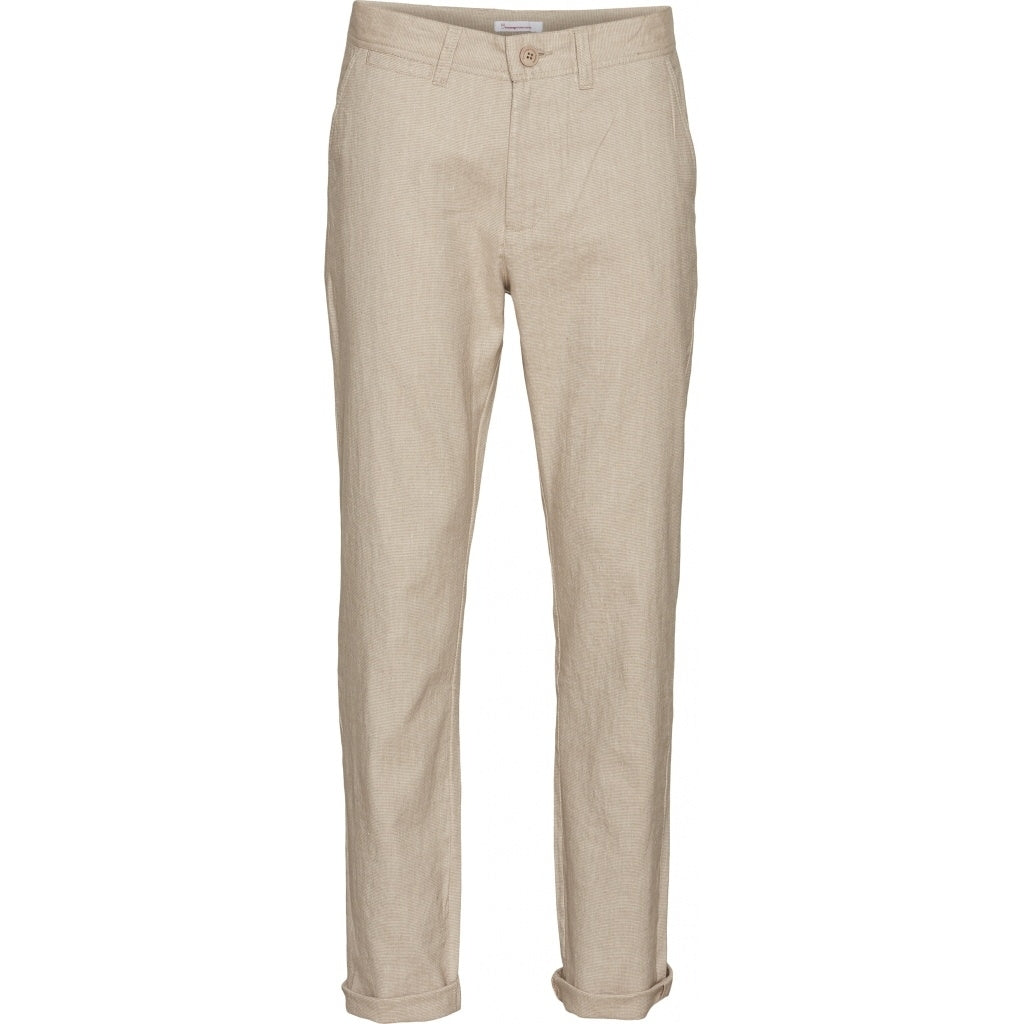 KCA CHUCK Regular linen pant 70261 Light Feather gray 1228