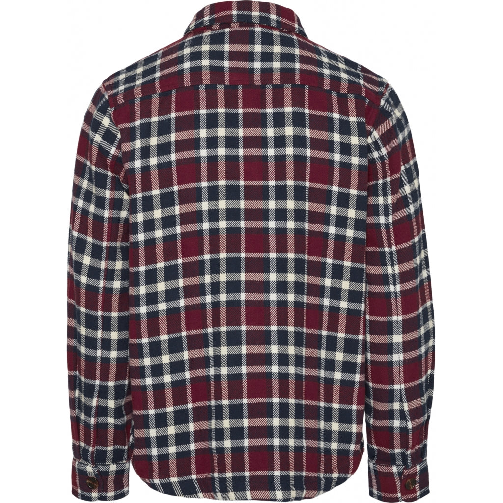 KCA Pine checked overshirt 94032 codovan 1309