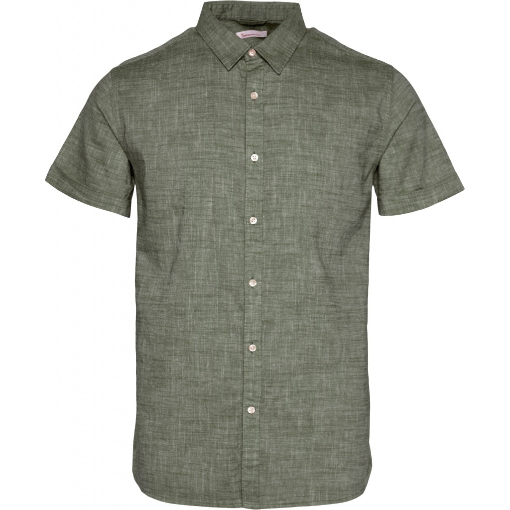 KCA 90804 Larch Linen Shirt 1294 Pine Needle