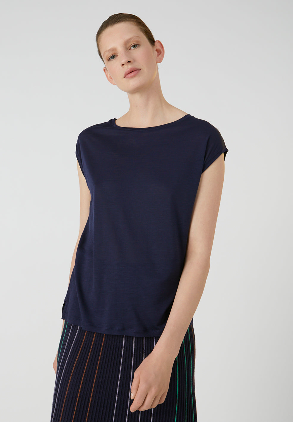 ARMEDANGELS Jilaa top Evening Blue