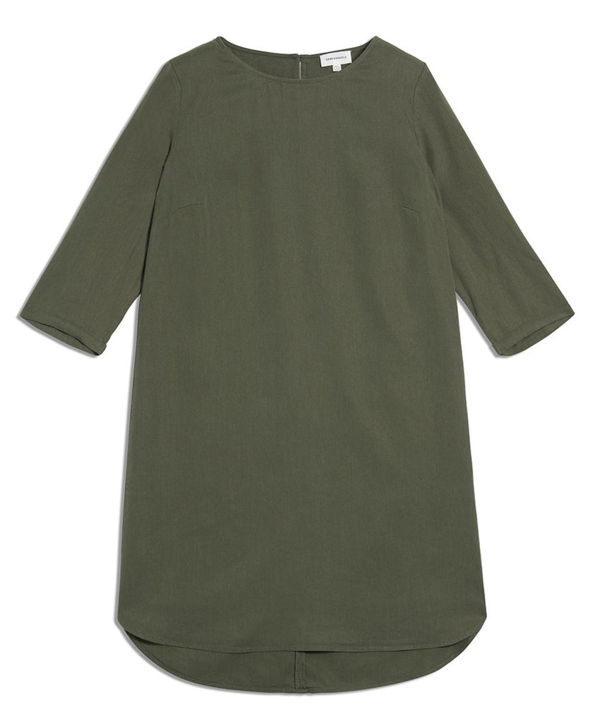 ARMEDANGELS Fiannaa Dress Moss Green