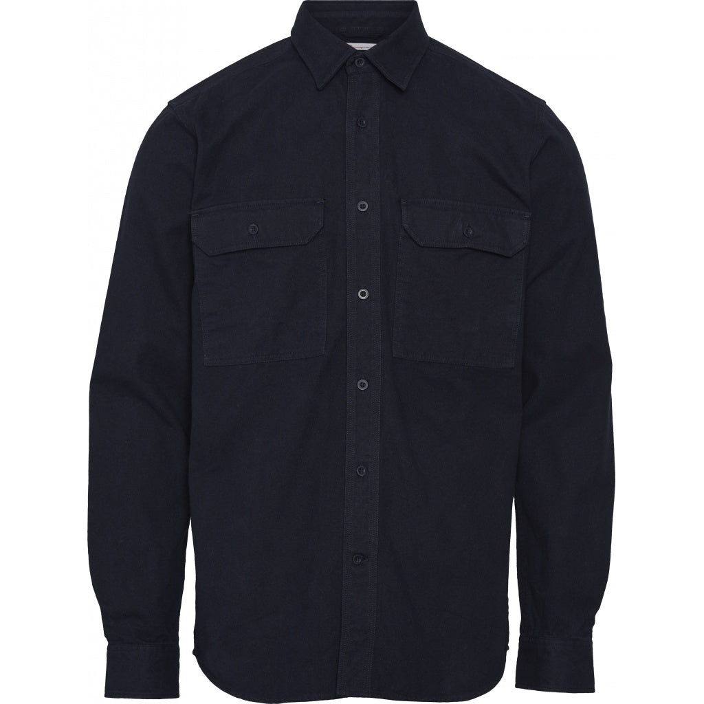 KCA Long sleeve moleskin shirt 90783 Total Eclipse 1001