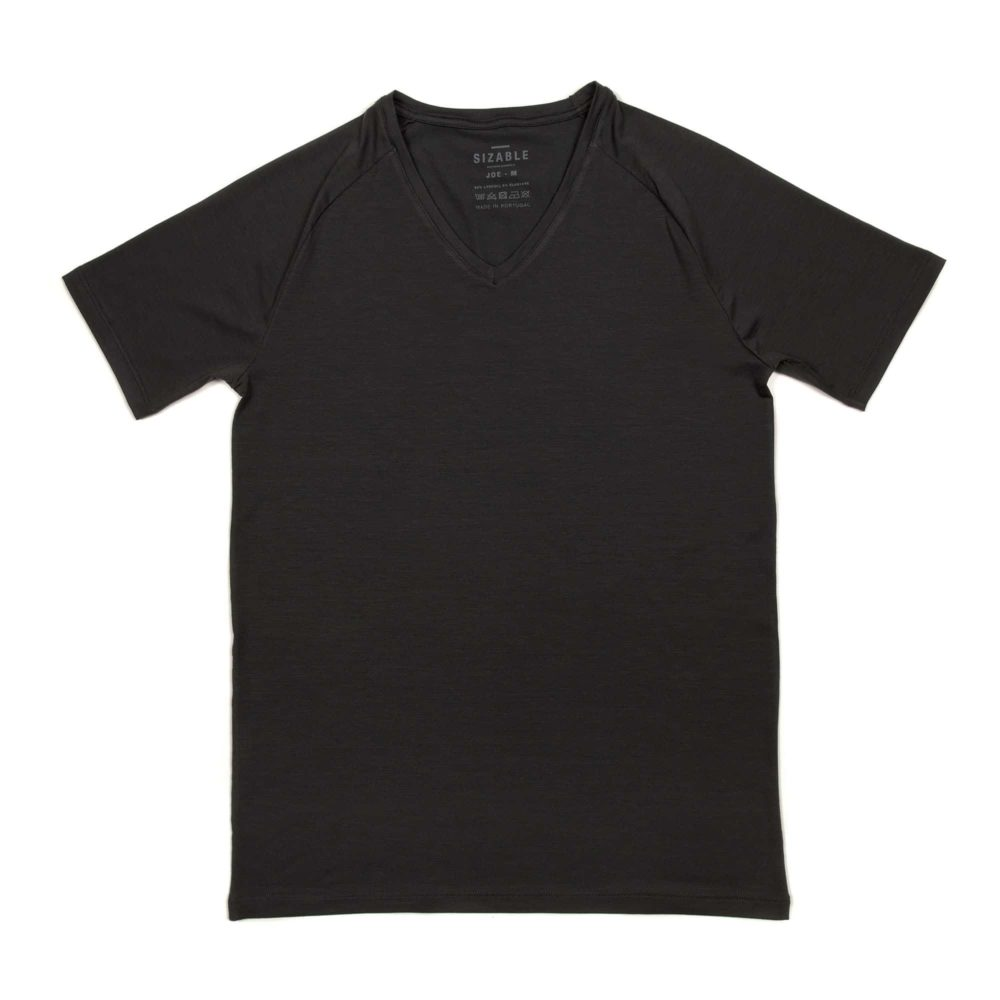 SIZABLE Joe Regular fit V-neck undershirt dark grey