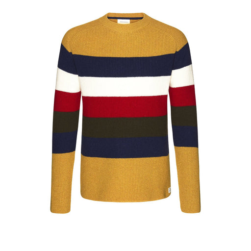 ARMEDANGELS Benno Stripes dusty yellow