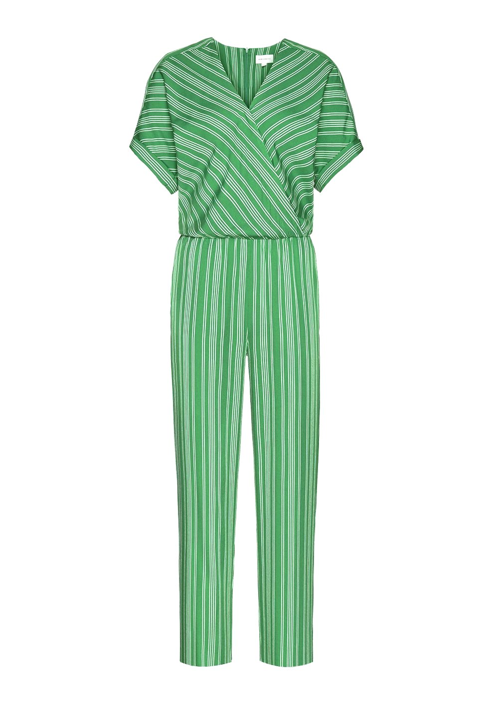 ARMEDANGELS Aarabella Pair Of Stripes Green