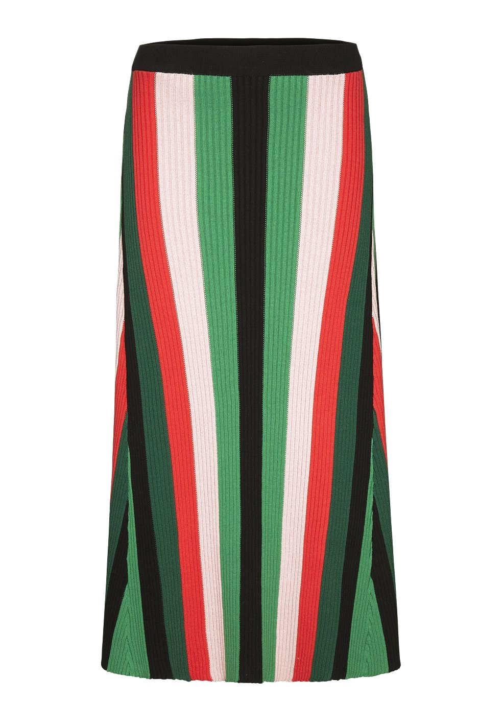 ARMEDANGELS Aadina Multi Stripes Green