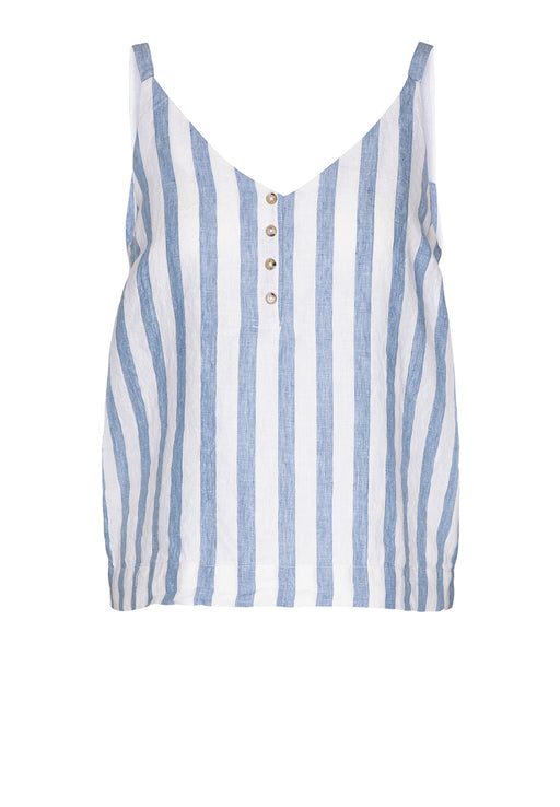 ARMEDANGELS Ilaa Stripes Breeze Blue