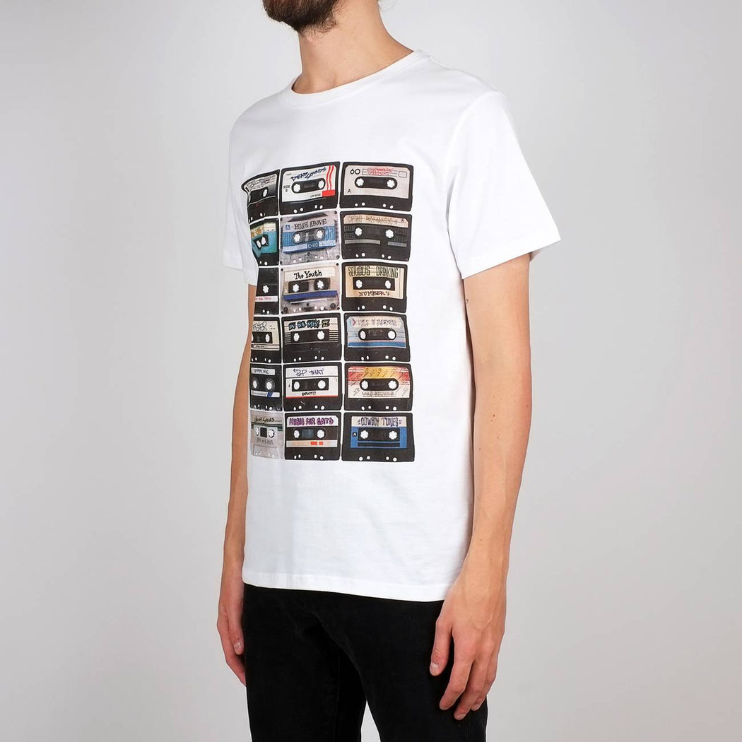 Dedicated Stockholm Multi Tapes T-shirt