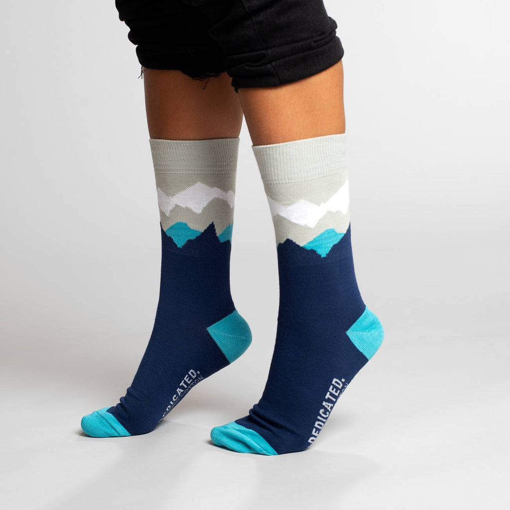 DEDICATED Socks Sigtuna Mountain Navy