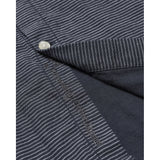 KCA 90814 Larch Striped Double Layer Shirt 1001 Total Eclipse