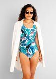 Dedicated Rana Swimsuit Color Leaves