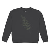 DEDICATED Ystad Raglan Fern Charcoal
