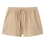 THINKING MU Geranio shorts Seersucker Women