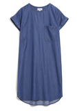 ARMEDANGELS Gitaa dress denim blue