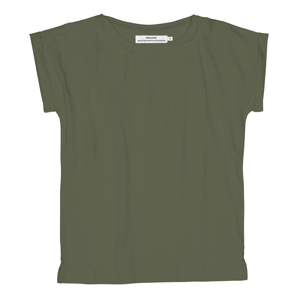 Dedicated Visby T-Shirt Base leaf green